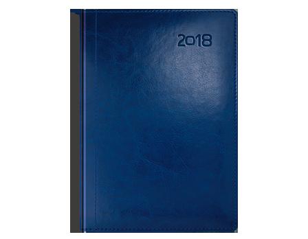 Kalendarz książkowy z kolekcji Classic Bordo i czerwień