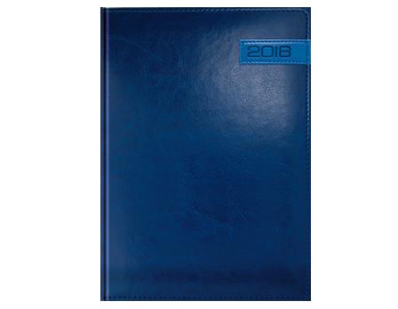 Kalendarz książkowy z kolekcji Modern Granat i niebieski
