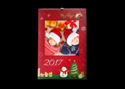 Kalendarz wieloplanszowy Święta A3
